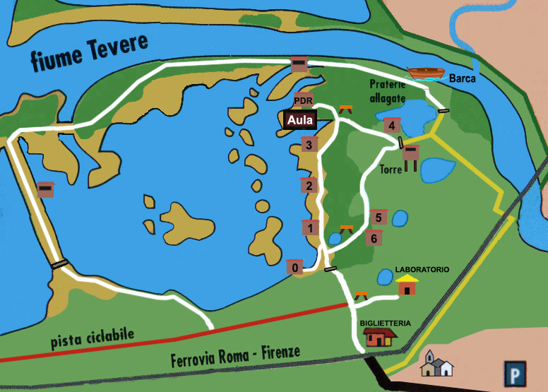 Mappa Oasi Disegno 1