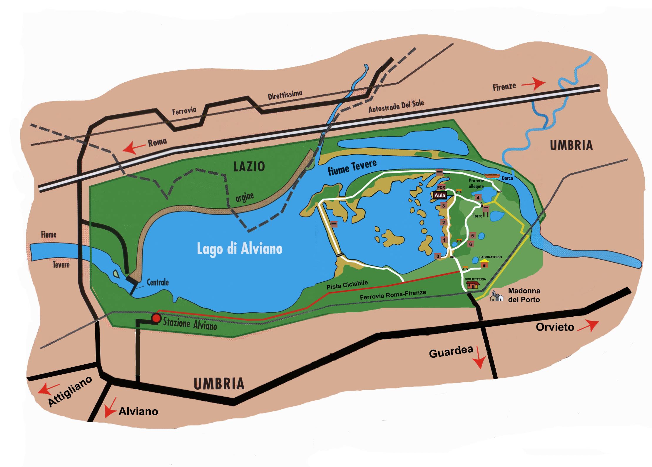 Mappa Oasi Disegno 2